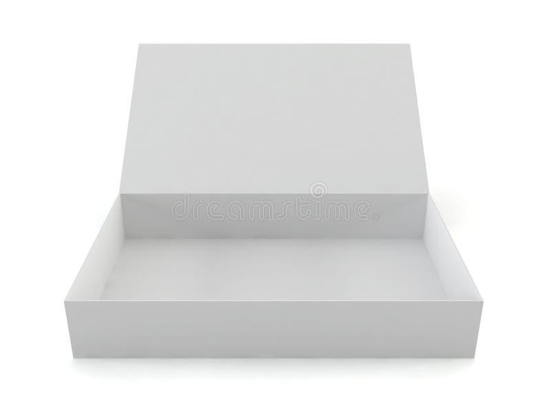 Rozpieczętowany pudełko ilustracji