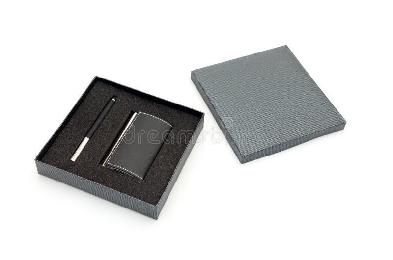 Rozpieczętowany pudełko zdjęcie stock