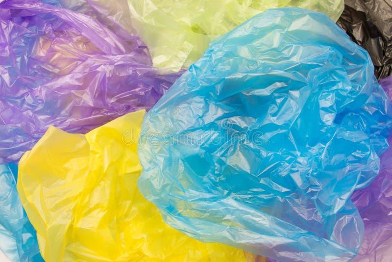 Rozporządzalni plastikowi worki obrazy royalty free