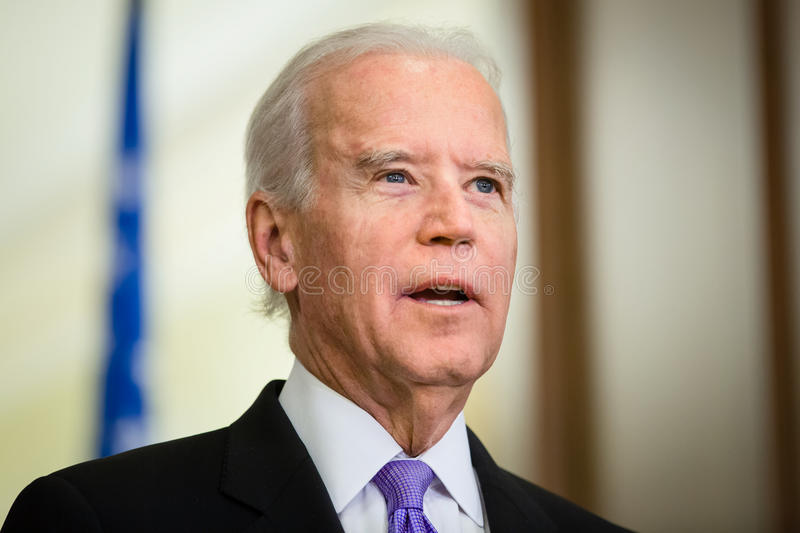 Rozpusta - prezydent usa Joe Biden obraz royalty free