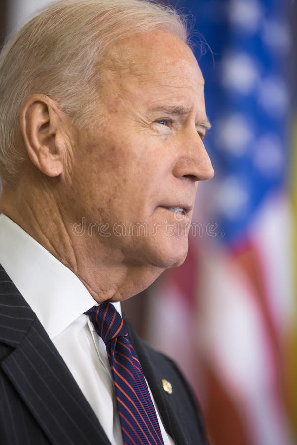 Rozpusta - prezydent usa Joe Biden zdjęcia stock