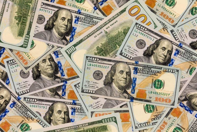 Rozrzucony pieniądze fotografia stock