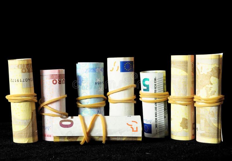 Rozrzucony pieniądze obrazy royalty free
