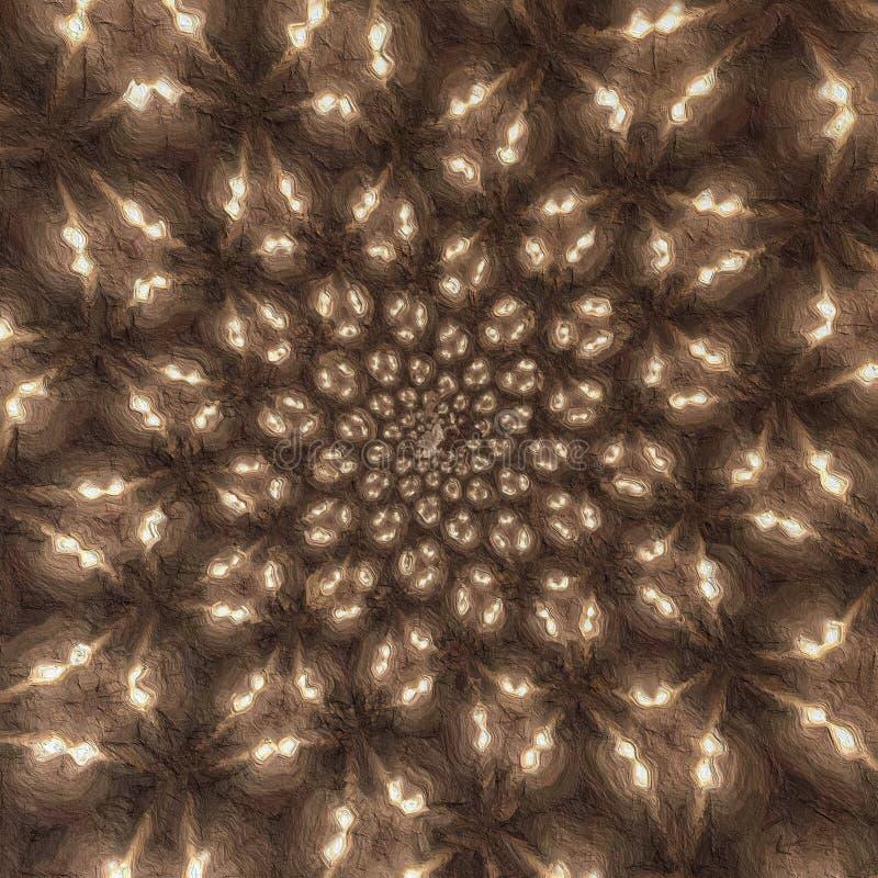Rozrzuconych świateł dgital obraz zdjęcie stock