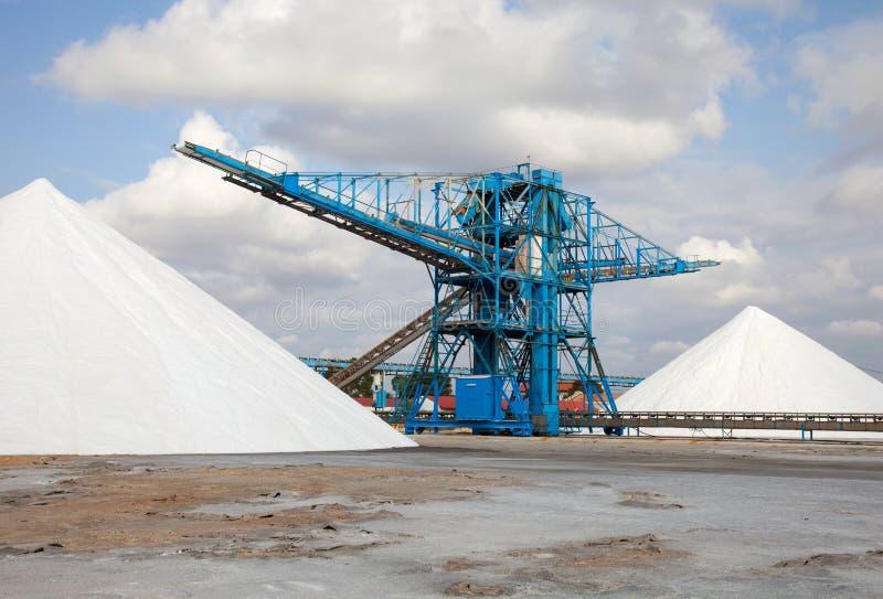 Rozsypisko sól obraz stock