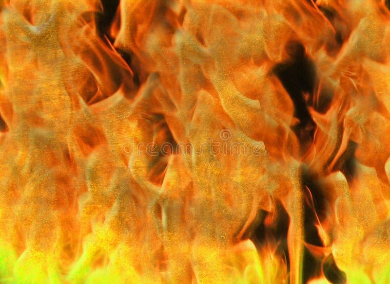 Rozszalały palenie ogień płonie piekło tekstury abstrakcjonistycznego tło fotografia royalty free