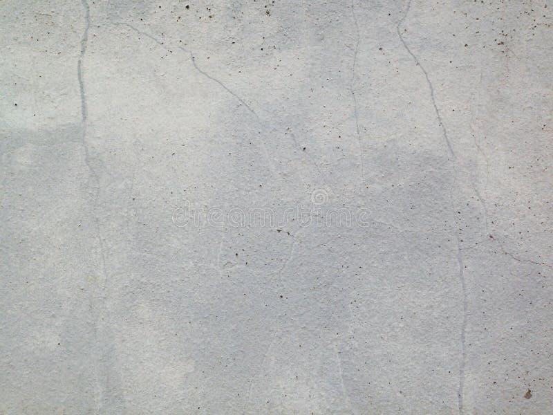 Rozszczepiony biel ściany tło fotografia royalty free