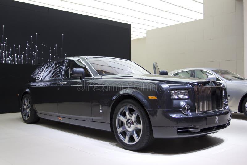 rozszerzony fantom stacza się royce wheelbase fotografia royalty free