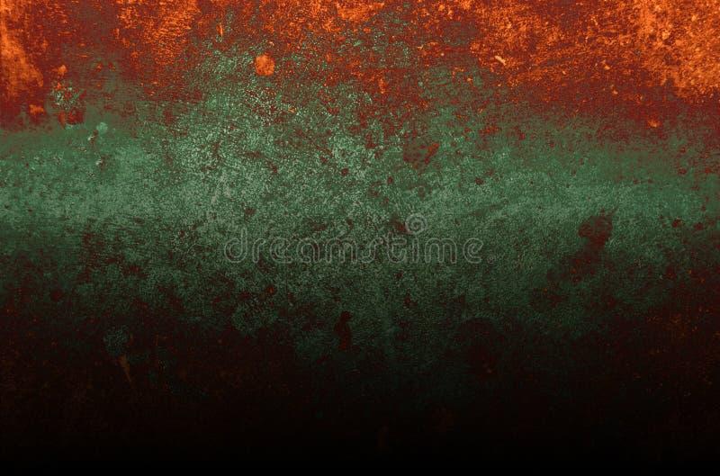 Roztapiającego metalu brązu groszaka tekstury konceptualny abstrakcjonistyczny tło zdjęcia stock