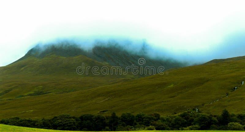 Roztoka Chrupliwa, wyspa Skye obraz stock