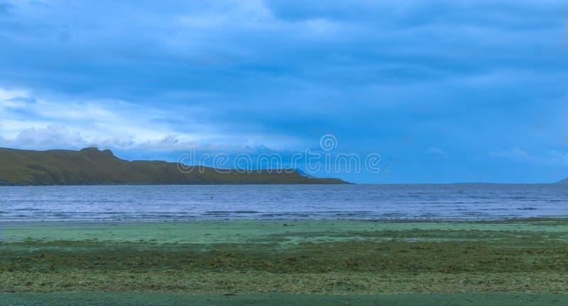 Roztoki Chrupliwa zatoka, wyspa Skye obrazy royalty free