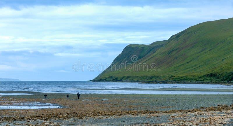 Roztoki Chrupliwa zatoka, wyspa Skye zdjęcia royalty free
