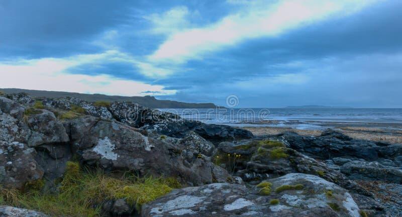 Roztoki Chrupliwa zatoka, wyspa Skye fotografia royalty free