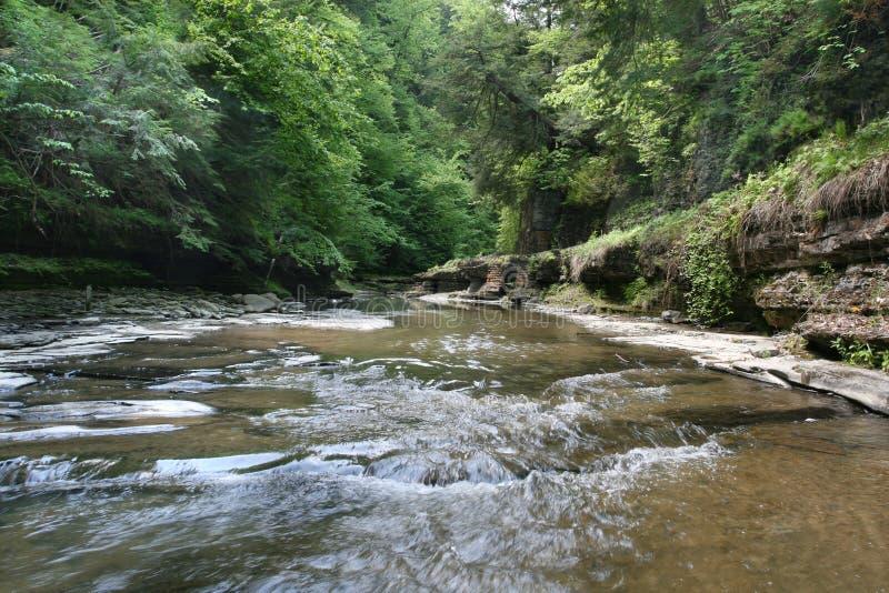 Download Roztoki wąwozu watkins obraz stock. Obraz złożonej z rzeka - 9673997