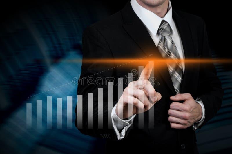 Rozwój biznesu sukces i narastający wzrostowy pojęcie fotografia royalty free