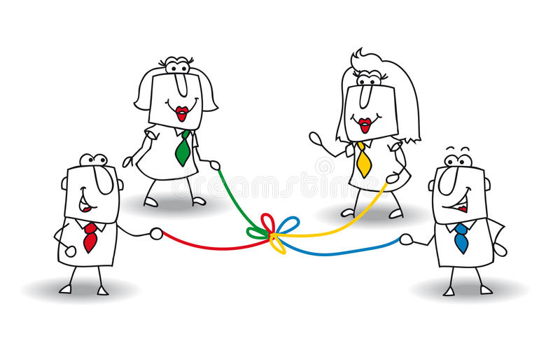 Rozwój royalty ilustracja