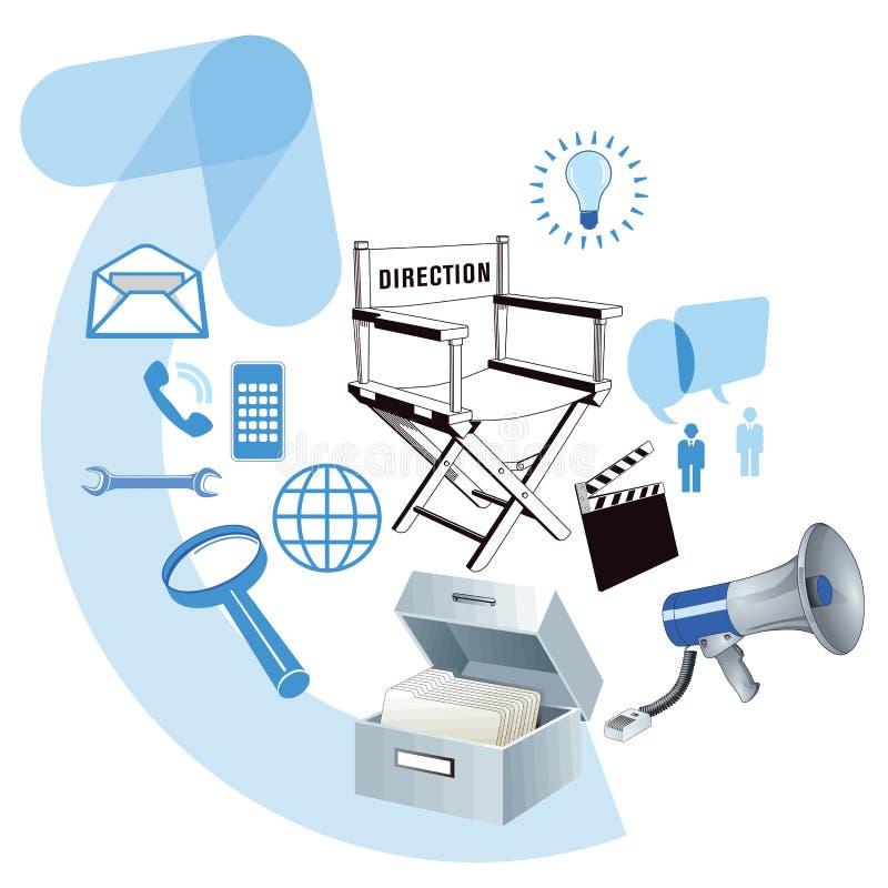 Rozwój biznesu ilustracja ilustracja wektor