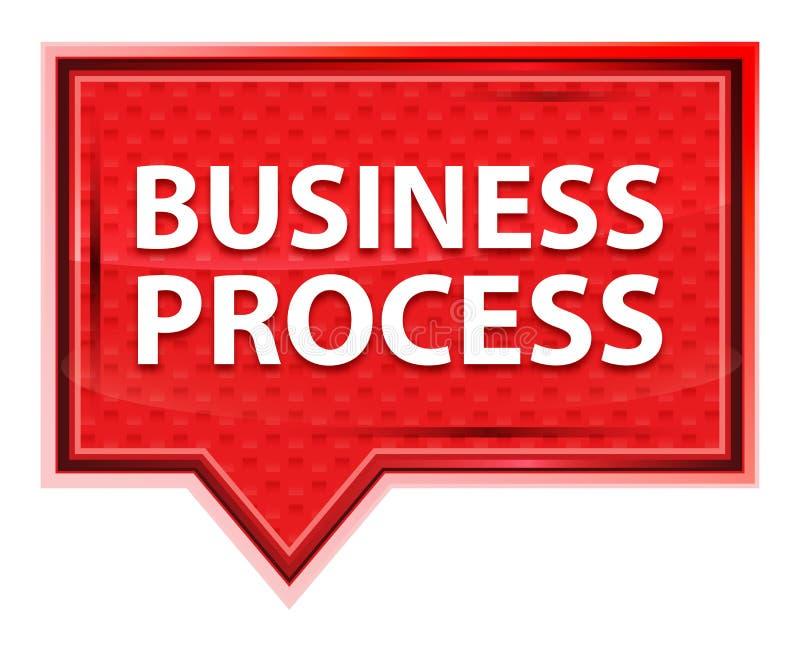Rozwój Biznesu róży menchii sztandaru mglisty guzik ilustracja wektor