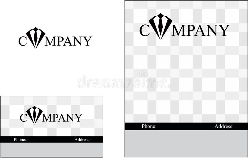 Rozwój, edukacja, komunikacja, marketing finansowy, zaawansowany technicznie, przemysł, biznesowy logo ilustracja wektor