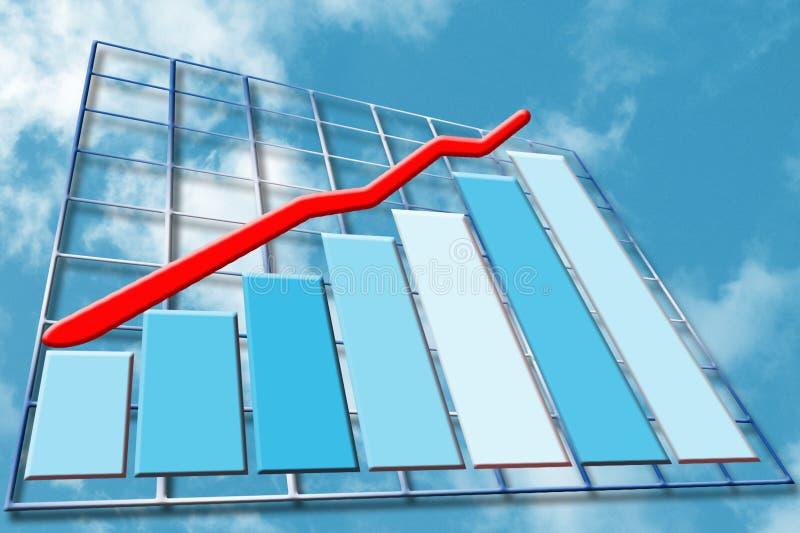 rozwój finansowy ilustracja wektor