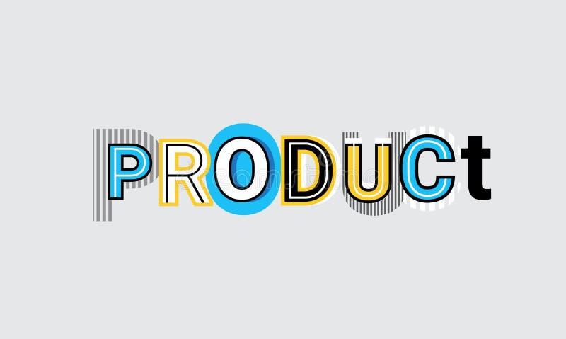 Rozwój Produktu sieci Biznesowego sztandaru szablonu Abstrakcjonistyczny tło ilustracji