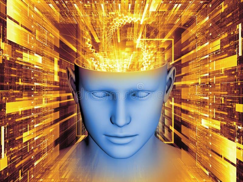Rozwój umysł ilustracji