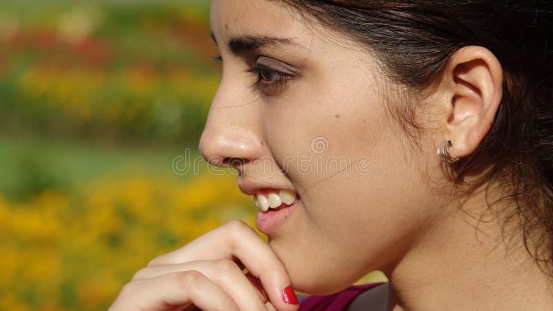 Rozważna Młoda Różnorodna kobieta zdjęcia stock