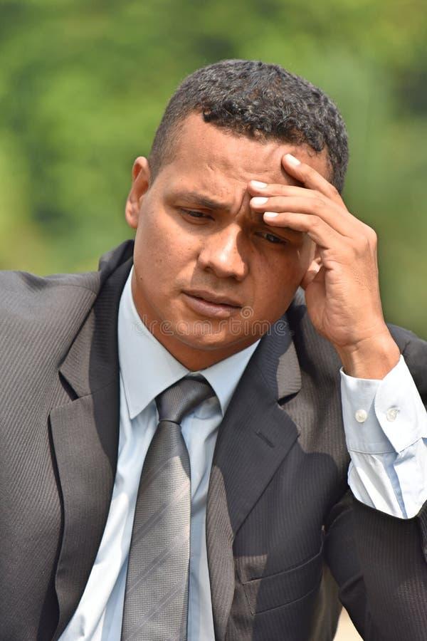 Rozważny Biznesowy mężczyzna Jest ubranym kostium I krawat fotografia stock