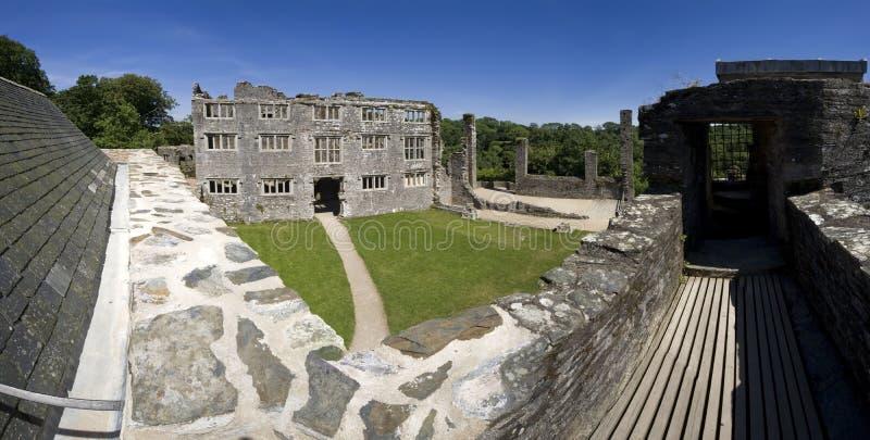 rozwalony zamek zdjęcia royalty free
