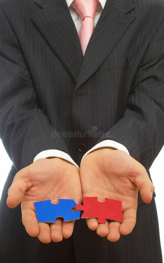rozwiązanie biznesowe zdjęcie stock