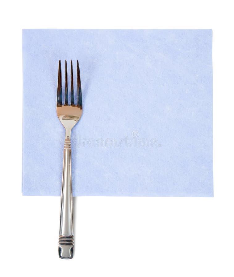 rozwidlenie błękitny pielucha zdjęcia stock