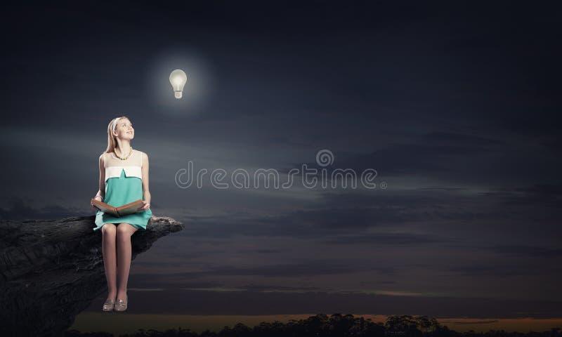 Rozwija twój wyobraźnię! fotografia royalty free