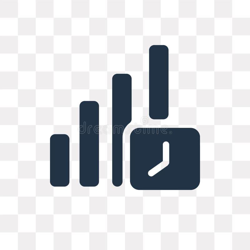 Rozwija wektorową ikonę odizolowywającą na przejrzystym tle, Rozwija, royalty ilustracja