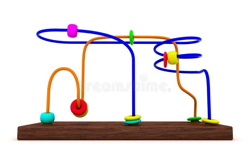 rozwojowa zabawka royalty ilustracja