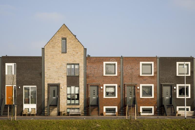 rozwoju budynki mieszkalne zdjęcie stock