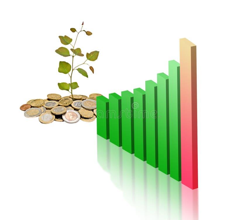 rozwoju gospodarki zieleń fotografia royalty free
