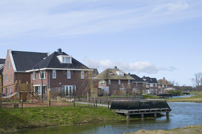 rozwoju nieruchomości budynki mieszkalne nowy zdjęcia stock