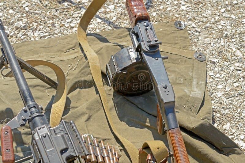 RPD-Machinegeweer stock foto