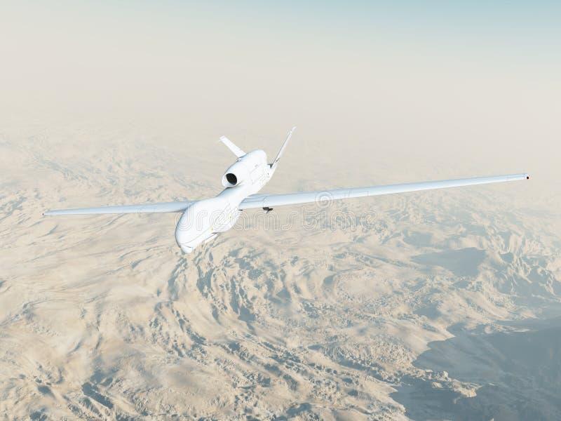 Rq-4A globale Havik tijdens de vlucht