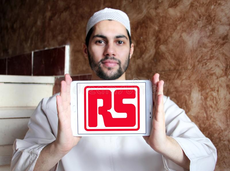 RS Components company logo editorial photo  Image of
