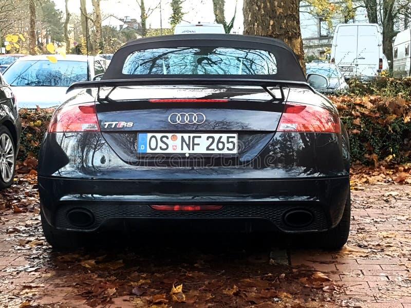 Rs de Audi TT - Alemanha foto de stock royalty free
