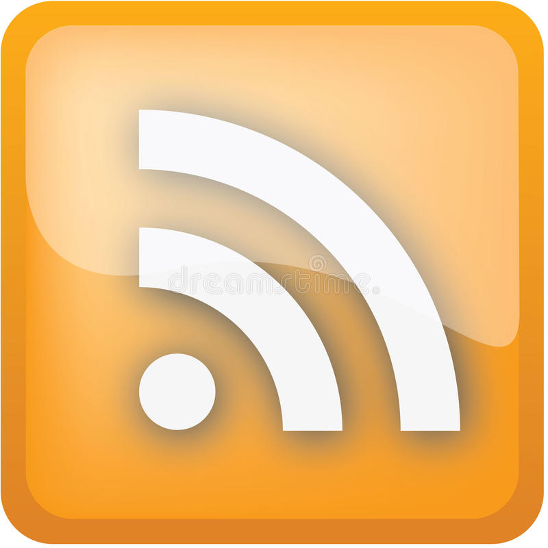 Download Rss icon stock vector. Image of icon, image, communications - 14081000