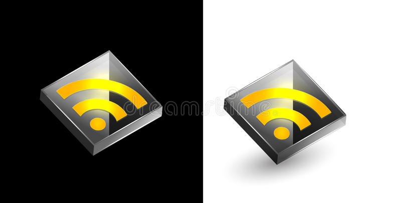 RSS Icon Royalty Free Stock Photography