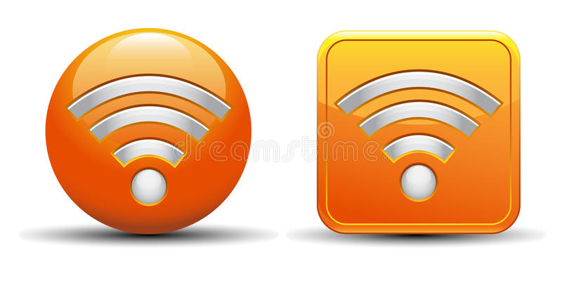 Download Rss icon stock vector. Image of banner, colorful, gradient - 26336397