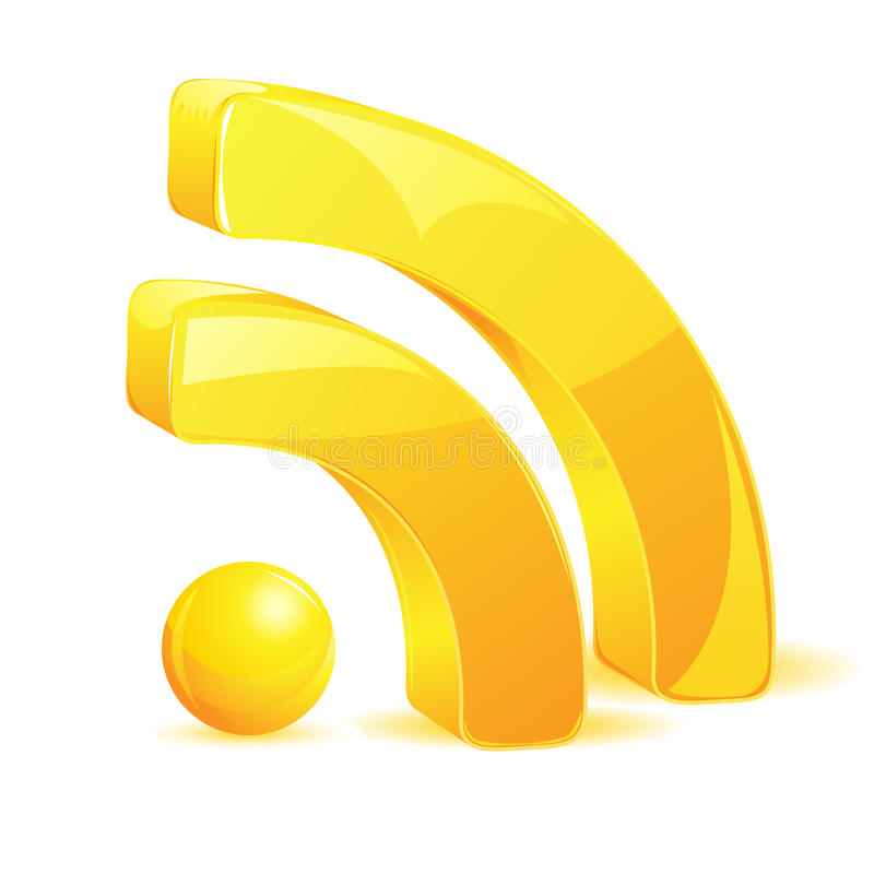 RSS Symbol vector illustration
