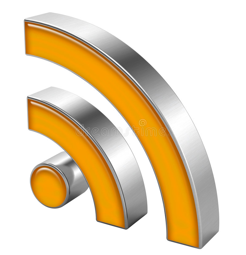 Download RSS symbol editorial photography. Image of white, logo - 7309327