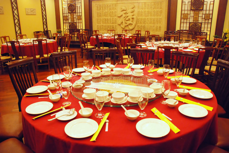 rstaurant kines royaltyfria bilder