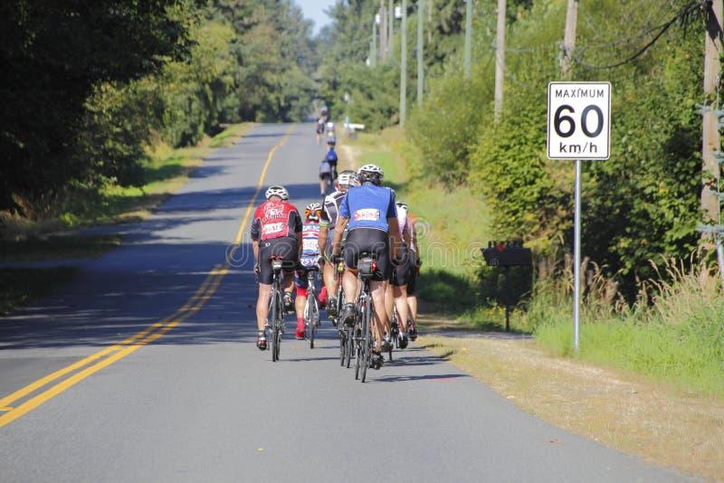 2016 RSVP Seattle zu Vancouver-Zyklus stockbilder