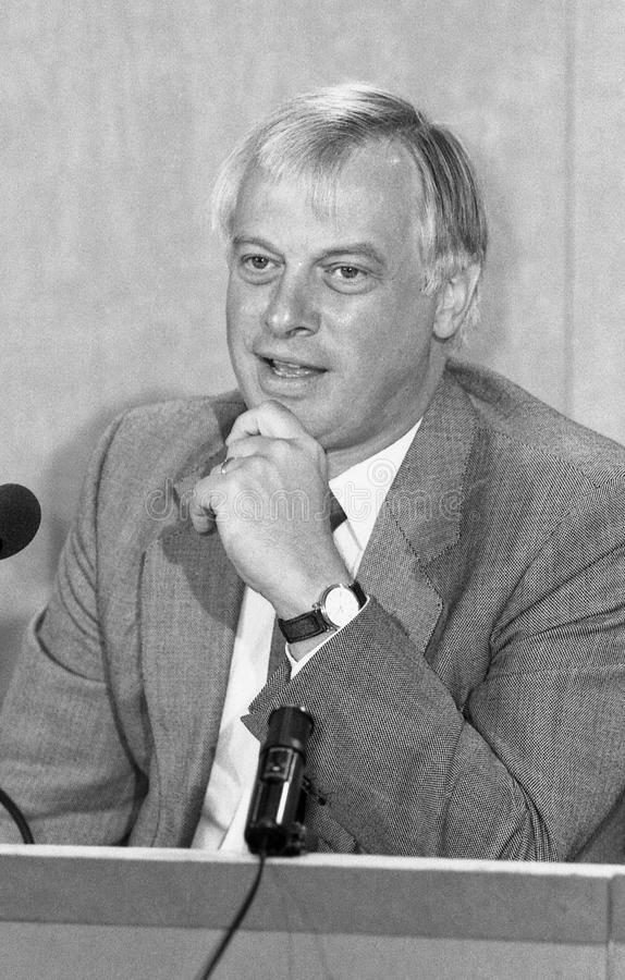 Rt.Hon. ChristopherPatten stockfotografie