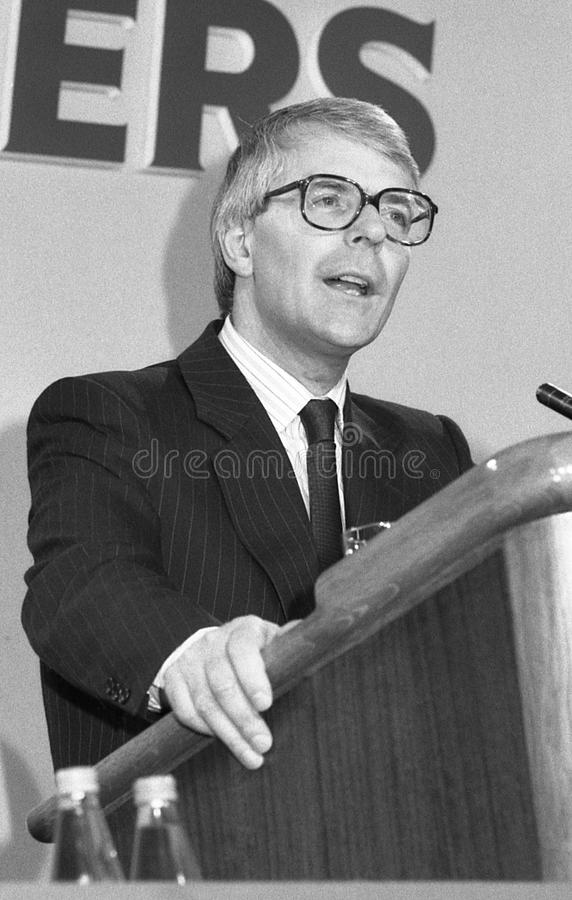 Rt.Hon. John Major stockfotos